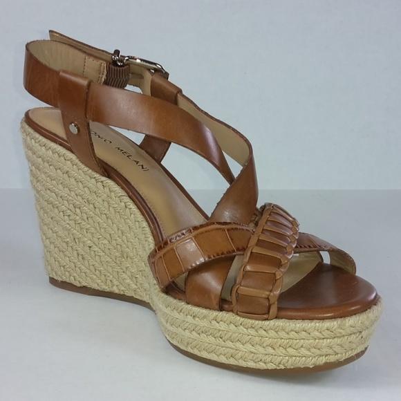 6c2dca53b045 ANTONIO MELANI Shoes - NWOT Antonio Melani Espadrille Wedges Size 8.5